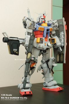 G-System 1/35 RX-78-2 Gundam - Painted Build Modeled by kyy94312