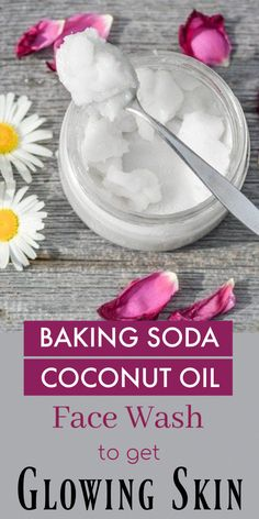 Baking Soda And Coconut Oil Face Wash For Glowing Skin bakingsoda coconutoil facewash diy glowingskin diyfacewash clearskin radiantskin recipe howto 699113542137888407 Baking Soda Face Wash, Baking Soda For Dandruff, Baking Soda Shampoo, Homemade Shampoo, Face Scrub Homemade, Oil Face Wash, Baking Soda Coconut Oil, Coconut Oil For Face, Coconut Milk