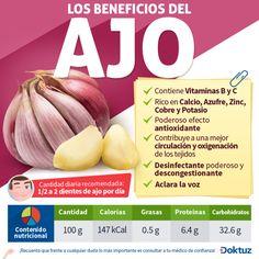 los beneficios del ajo