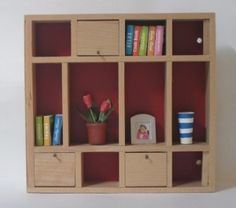 Lundby Bookcase [2004] Car Boot Sale, Dollhouses, Bookcase, Shed, Shelves, Furniture, Home Decor, House, Lean To Shed