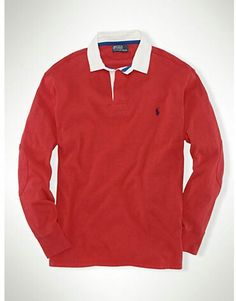 Red Polo rugby