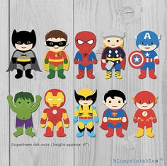 Hey, I found this really awesome Etsy listing at https://www.etsy.com/listing/240512960/superhero-5-cutouts-batman-robin-iron