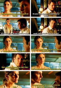 """""""We're here because of who we are in the face of people like him"""" - Kate (Proud of Rick) and #Castle"""