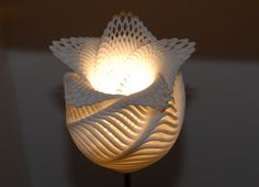 Also A 3d Printed Lamp Cool Isn T It 3d Printing Art Lamp 3d Lamp