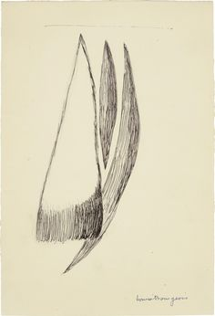 Untitled 1948, Louise Bourgeois