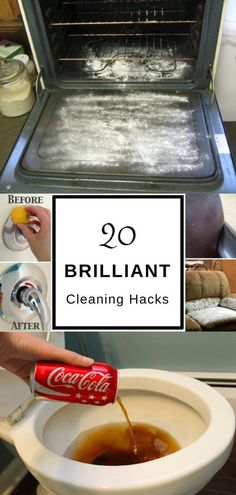 Check out these brilliant cleaning hacks that will certainly makeyour cleaning simpler cheaper and less toxic for kids and pets. These tips and tricks are great for deep cleaning any room in the house - the bathroom kitchen and even bedroom.