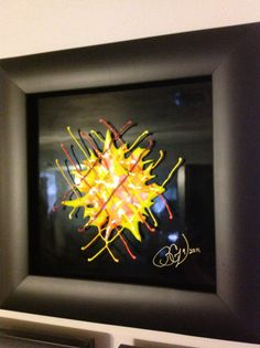 Super Nova - glass fusion by BreCz 9/2011