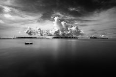iCloud as in Island Cloud from Pulau Macan, Indonesia.