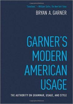 Amazon.com: Garner's Modern American Usage (9780195382754): Bryan A. Garner: Books
