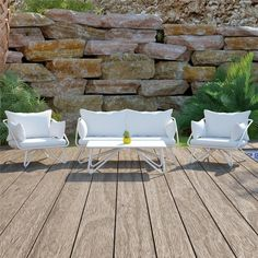 Teddi Outdoor Conversation Set | The Novogratz | $1200