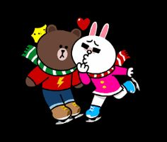 With Tenor, maker of GIF Keyboard, add popular Brown And Cony animated GIFs to your conversations. Share the best GIFs now >>> Bear Gif, Cony Brown, B Image, Funny Bears, Cute Love Gif, Ice Sculptures, Line Friends, Gif Of The Day, Love Gifts