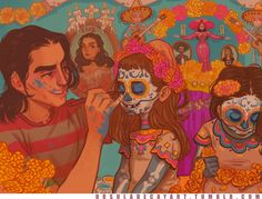 Marigolds by UrsulaDecay on @DeviantArt