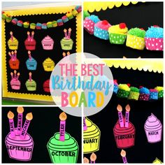 birthday bulletin board templates - the gallery for birthday cupcake template bulletin board
