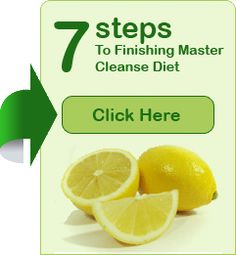 What To Do After The Master Cleanse | Master Cleanse Blog