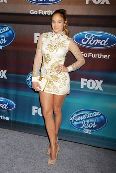 Jennifer Lopez attends Fox's American Idol season 14 Finalist Party at The District Restaurant in Los Angeles on March 11, 2015.   - Cosmopolitan.com