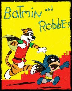 Mashups de Calvin e Haroldo