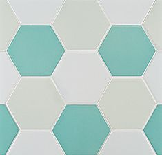 Love the pattern and colors of this tile.