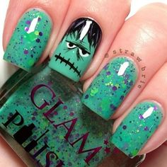 Halloween Nail Art Designs and Ideas (17)