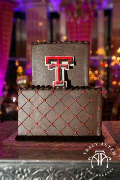 Texas Tech Wedding Cakes