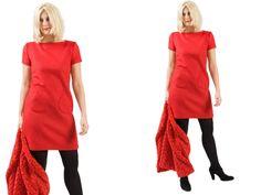 Kleid aus Schurwolle mit Bolero Jacke