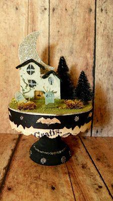 Brandywine Designs--Halloween village