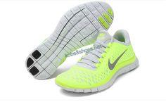 Lime Green Cheap Nike Free 3.0 V4 Reflective Silver White 511495 301