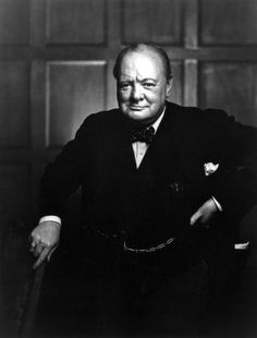 The Roaring Lion Yousuf Karsh portrait of Winston Churchill