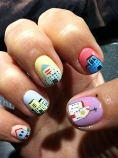 Niave Art on Nails!? Why not?