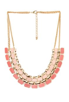 Street-Chic Lacquered Bib Necklace | FOREVER21 Street chic accessories #Necklace #F21Crush #ValentinesDay