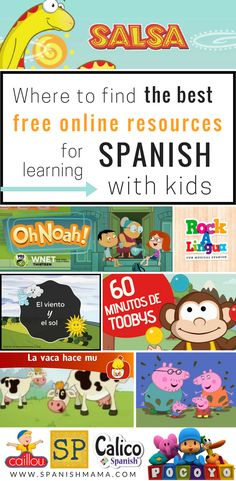 Free Online Spanish Resources for Kids
