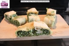 Mama Isa's Strudel with Spinach, Ricotta Cheese, Parmesan, nutmeg and egg:  Cooking Classes Venice