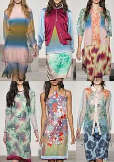 London Fashion Week   Spring/Summer 2014   Print Highlights   Part 3 catwalks J.S Orients