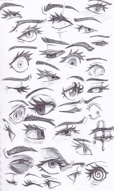 Eye sketches by TrueLoveStoryMB on DeviantArt Drawing Reference Poses, Drawing Poses, Photo Reference, Drawing Ideas, Eye Drawing Tutorials, Figure Drawing Tutorial, Art Drawings Sketches Simple, Eye Drawings, Pencil Art Drawings