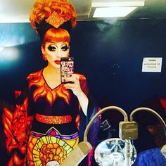 Bianca Del Rio in San Fransico for the Not Today Satan Tour 9/30/16