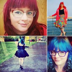 The next plus size blogger on the #psbloggersinstagramadvent is @girlgeek85 this girl is gorgeous and very bold in her style choices and also in her wonderful array of hair colours. I have only met her a couple of times but I think she is lovely and seems super fun :) by ucantwearthat