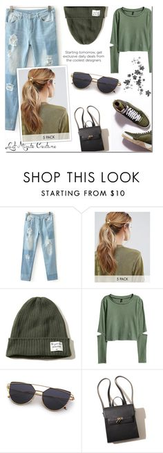 """Untitled #555"" by m555m ❤ liked on Polyvore featuring Kitsch and Hollister Co."