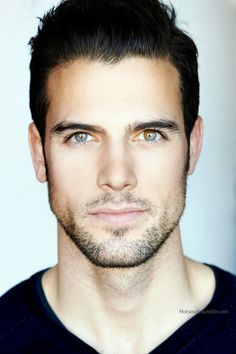 "chocolategirlandvanillaguy: "" This man looks so beautiful I love this blue and brown eyes But I don't know his name… "" Oh Yeah ! I find his name : Thomas Beaudoin Beautiful Eyes, Gorgeous Men, Amazing Eyes, Pretty Eyes, Absolutely Gorgeous, Beautiful People, Thomas Beaudoin, Fotografie Portraits, The Face"