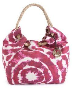 2acb7e311219 MICHAEL Michael Kors Handbag, Brasil Tie Dye Marina Shoulder Tote & Reviews  - Handbags & Accessories - Macy's