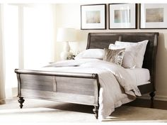 Want to make a classic, chic bedroom aesthetic? It starts with artwork. Choose the art and the colors & prints will follow. #DesignTip #EthanAllen