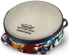 """Remo 6"""" Rhythm Club Tambourine Percussion Instrument Kids Child w/ 4 Jingle Sets - http://musical-instruments.goshoppins.com/percussion/remo-6-rhythm-club-tambourine-percussion-instrument-kids-child-w-4-jingle-sets/"""