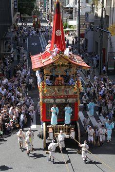鶏鉾を俯瞰で。 祇園祭 京都 kyoto gion festival