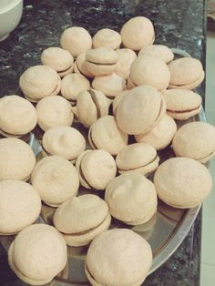 Macaroon Recipe- i have GOT to try these soon! Next big baking venture :) Sweet Desserts, No Bake Desserts, Sweet Recipes, Delicious Desserts, Dessert Recipes, Yummy Food, Baking Recipes, Cookie Recipes, Macaroon Recipes