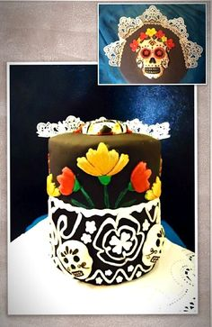 pastel dia de muertos