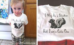 DIY Trendy T-shirts for the Whole Family with Cricut! ⋆ The Quiet Grove School Shirts, T Shirt Diy, Cricut Design, T Shirts For Women, Tees, Cute, Baby, Cricut Ideas, Shirt Ideas