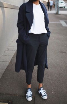 triple navy Casual Outfit https://rhuge.wordpress.com/
