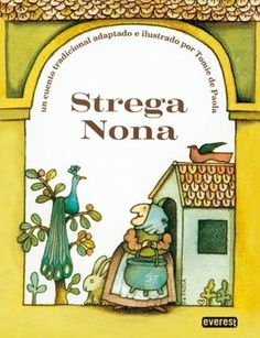 Summary: Strega Nona is an Italian Witch Doctor. She helps the local town with cures for sickness and other things. She is getting older so she employs a young man named Big Anthony. One day, Big Anthony sees Strega Nona making tons of pasta in her magic pasta pot. He doesn't see her blow 3 kisses into the pot to make it stop.