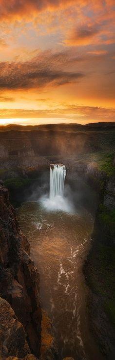 ♥ Palouse Falls - Pa Amazing World beautiful amazing