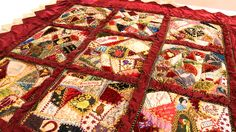 Crazy Quilt Patterns Free | gibson s crazy patchwork quilt marianne gibson quilt images video