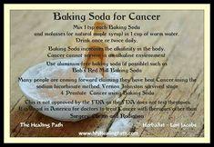 Baking Soda for Cancer