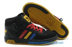 Adidas Skate Lifestyle Collection Black Red Yellow Blue